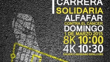 I Carrera Solidaria Alfafar Contra el Cancer