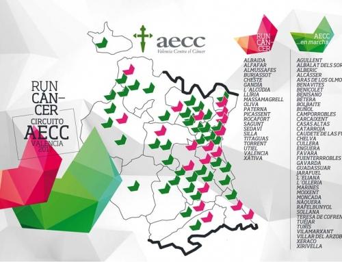 Las 21 localidades y fechas que forman el calendario de carreras RunCáncer 2017