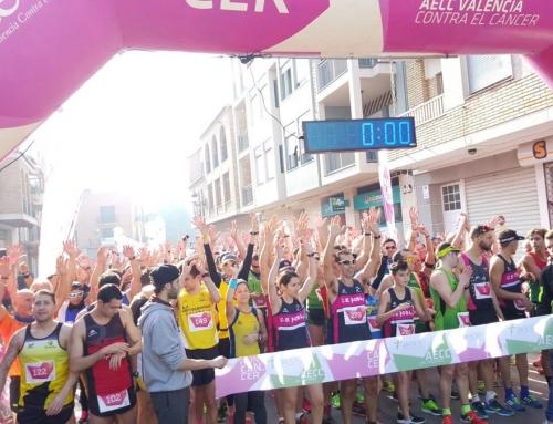 RunCáncer estrena las carreras 2017 en Rafelbunyol con 3.025 euros solidarios