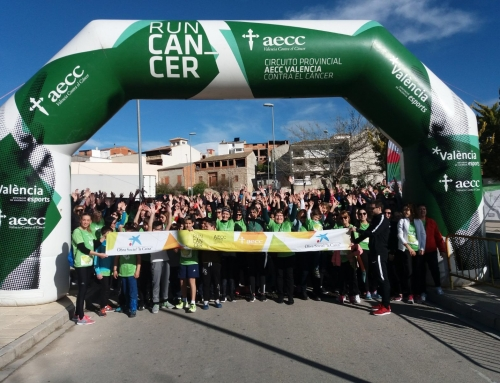 La marcha contra el cáncer de Llutxent recauda 1.557€