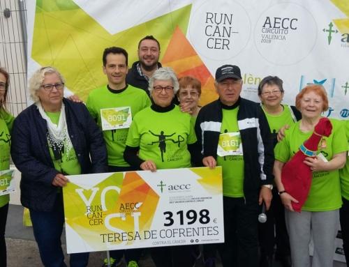 En el #DíaMundialDeLaSalud, más de 500 personas marchan contra el cáncer en Teresa de Cofrentes
