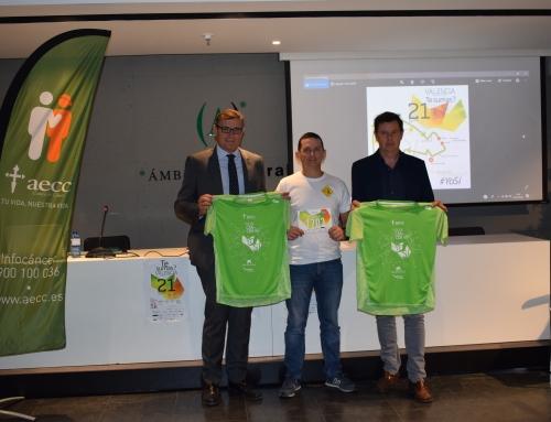 'Valencia contra el Cáncer' reunirá a miles de personas en el evento deportivo y solidaria del otoño