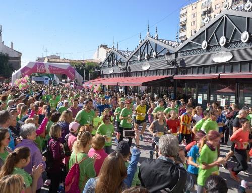 Más de 4.000 personas corren y marchan contra el cáncer en Gandia