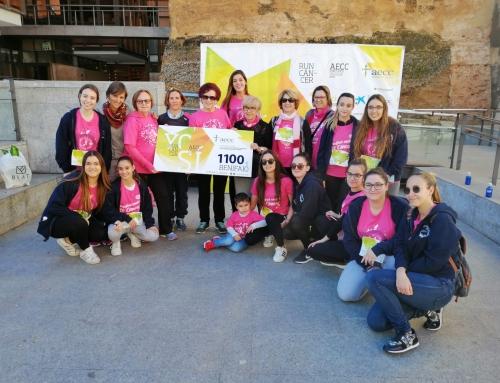 Cerca de 300 personas se mueven contra el cáncer en Benifaió