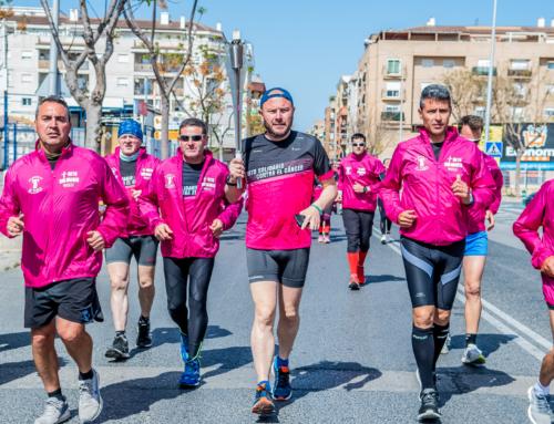 Más de 50 personas recorren 121 kilómetros durante 24 horas contra el cáncer