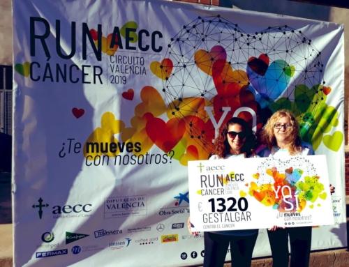 Gestalgar suma 1.320€ a la lucha contra el cáncer