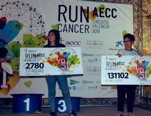 Titaguas marcha y corre contra el cáncer sumando 2.780€