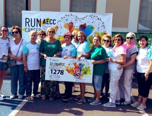 RunCáncer llega a Bétera y suma 1.278€ a la lucha contra el cáncer