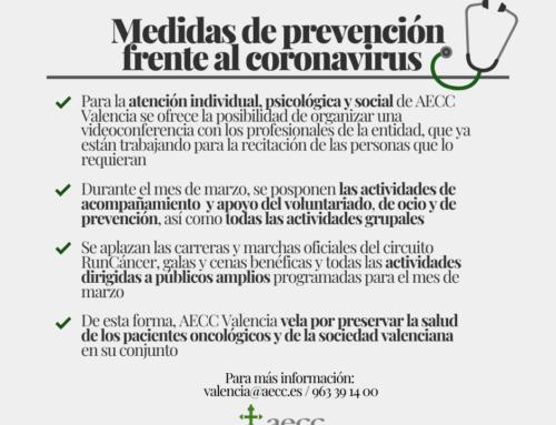 #Coronavirus | Comunicado RunCáncer