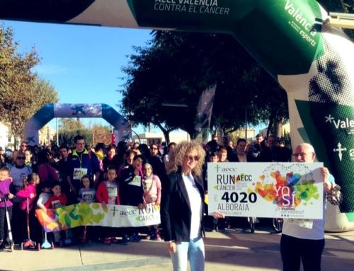 #RunCáncer despide noviembre con más de 1.300 personas sumando contra el cáncer en Alboraia