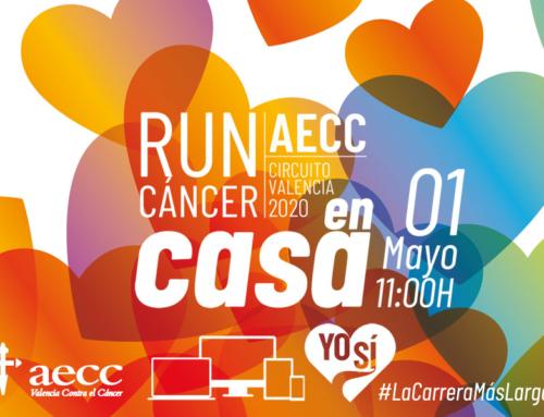 RunCáncer se cuela en las casas para sumar contra el cáncer y el Covid-19