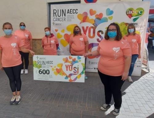 La solidaridad de RunCáncer hace parada en Pedralba