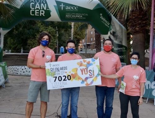 L'Olleria marcha contra el cáncer y recauda más de 7.000€