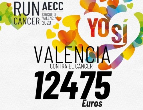 RunCáncer hace parada en València sumando 12.475 euros