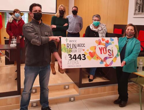 """El """"A tu marcha"""" de RunCáncer en Ayora suma más de 3.400 euros"""