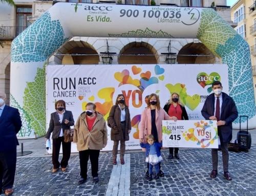#RunCáncer Gandia suma 415€ más contra el cáncer
