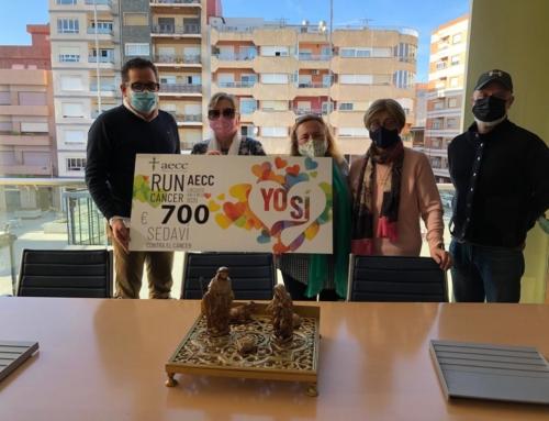Sedaví se mueve contra el cáncer y suma 700 euros
