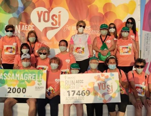 Corredores y marchadores suman 2.000 euros contra el cáncer en Massamagrell