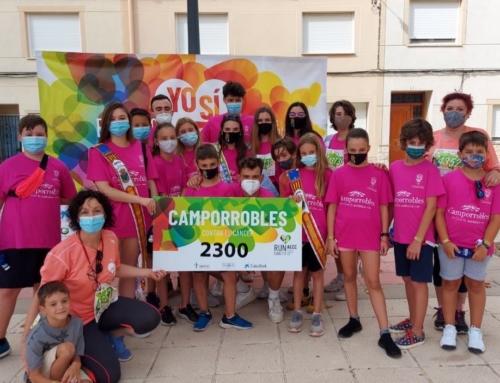 RunCáncer despide agosto con la marcha contra el cáncer de Camporrobles