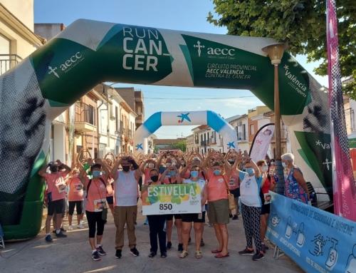 #RunCáncer se mueve en Estivella y suma 850 euros